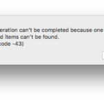 Fix: Mac Error Code 43 Permanently [3 Ways]