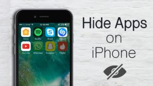 Hide Apps On iPhone