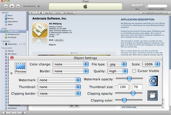 snip image capture mac