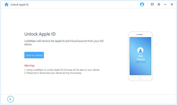 turn off find my iphone via apple id