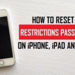 How To Reset iPhone/iPad/iPod Passcode?