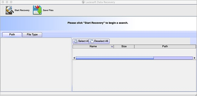 Data recovery tool for mac